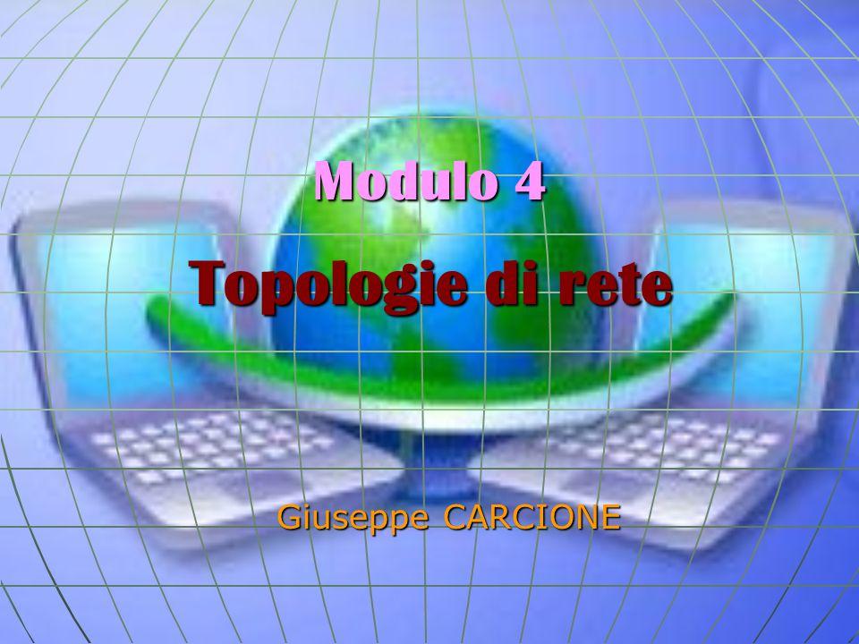 Modulo 4 Topologie di rete Giuseppe CARCIONE