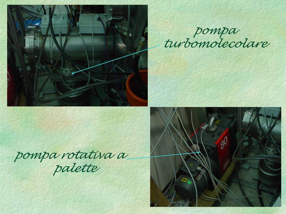 pompa turbomolecolare pompa rotativa a palette