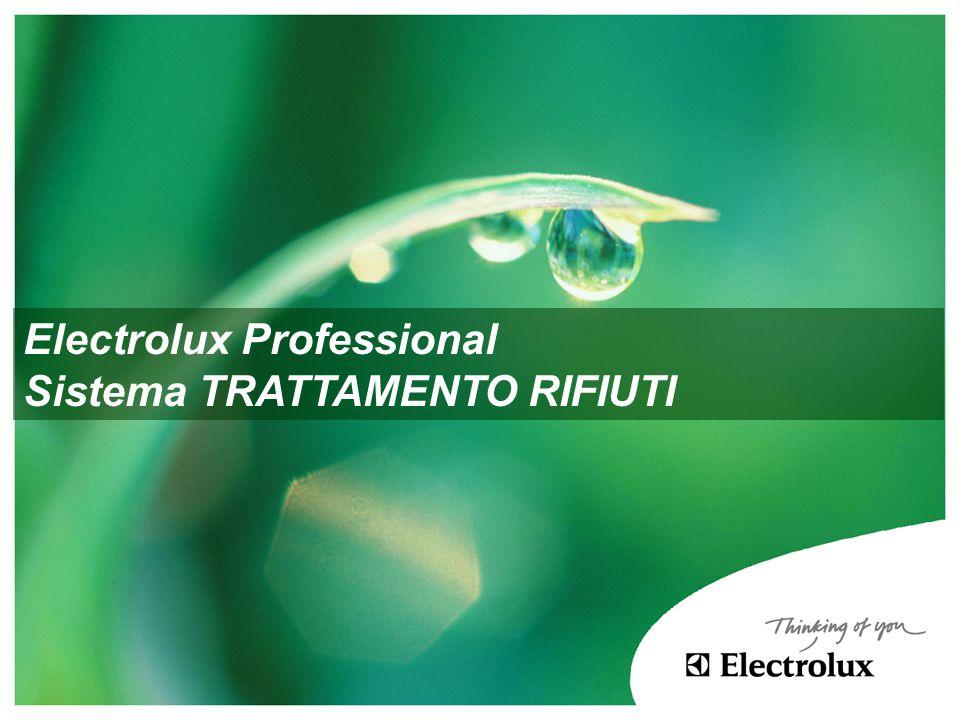 Electrolux Professional Sistema TRATTAMENTO RIFIUTI