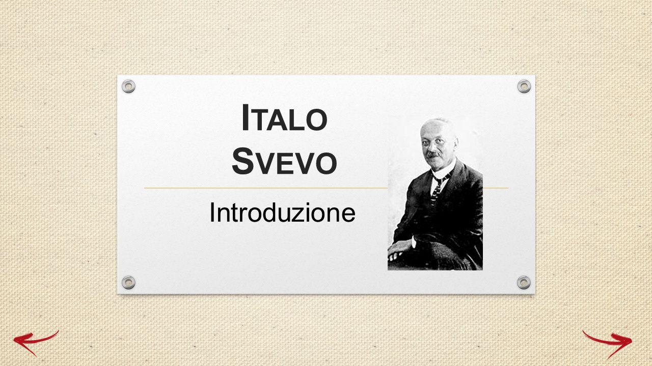 Italo Svevo, pseudonimo di Aron Hector Schmitz, è nato a Trieste il 19 dicembre 1861 ed è morto a Motta di Livenza il 13 settembre 1928.
