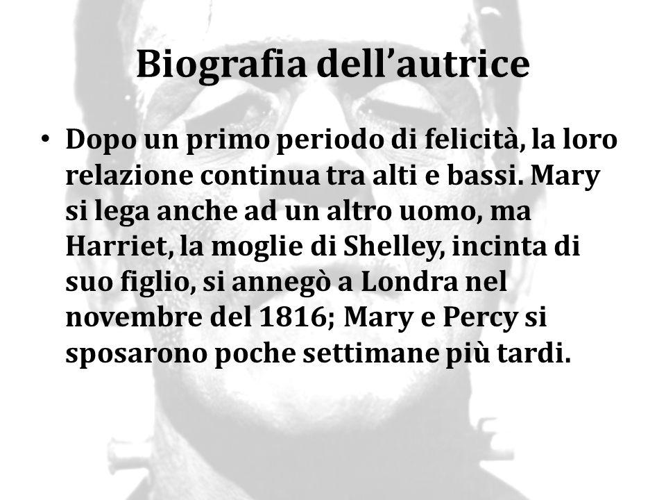 Biografia dell'autrice L unione tra Mary e Percy non era solo romantica, ma anche letteraria.