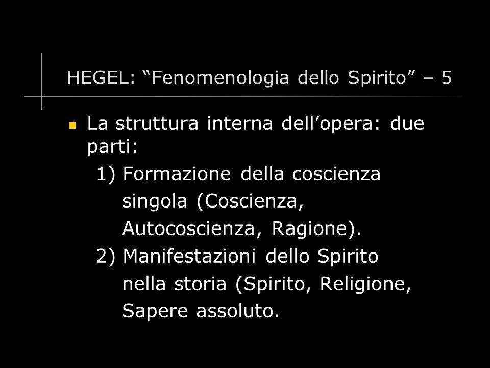 HEGEL: Fenomenologia dello Spirito - 26 Il signore, invece, essendo incapace di provvedere da solo ai propri bisogni, rivela la sua dipendenza dal lavoro del servo.