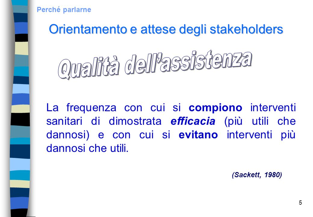 46Bibliografia http://www.ministerosalute.it/programmazione/qualita/qualita.jsp AAVV., L'esperienza di gestione dell'errrore nella pratica assistenziale di un presidio ospedaliero.