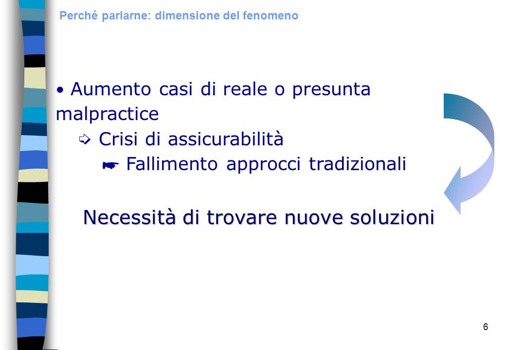 37 Trattamento Fasi Risk management: trattamento dei rischi Tecniche di finanziamento: assicurazione e autofinanziamento Tecniche di controllo: prevenzione e protezione