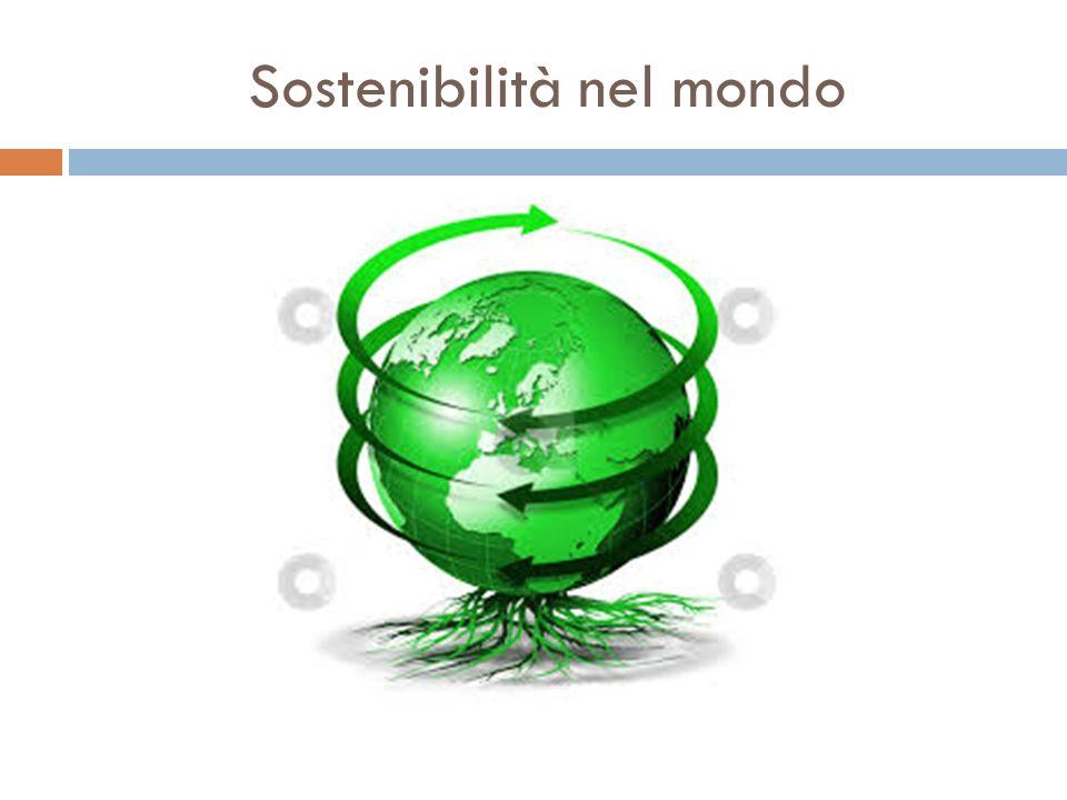 Sostenibilità nel mondo