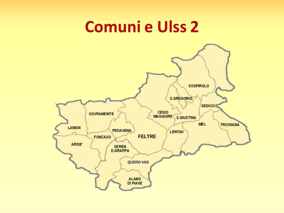 Comuni e Ulss 2