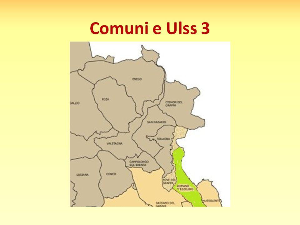 Comuni e Ulss 3