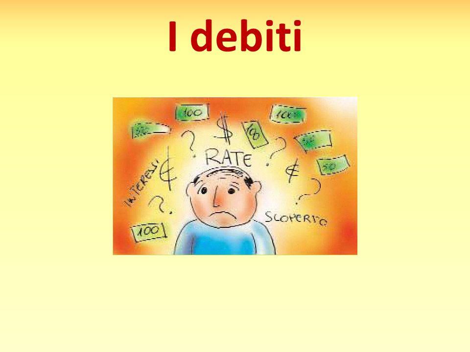 I debiti