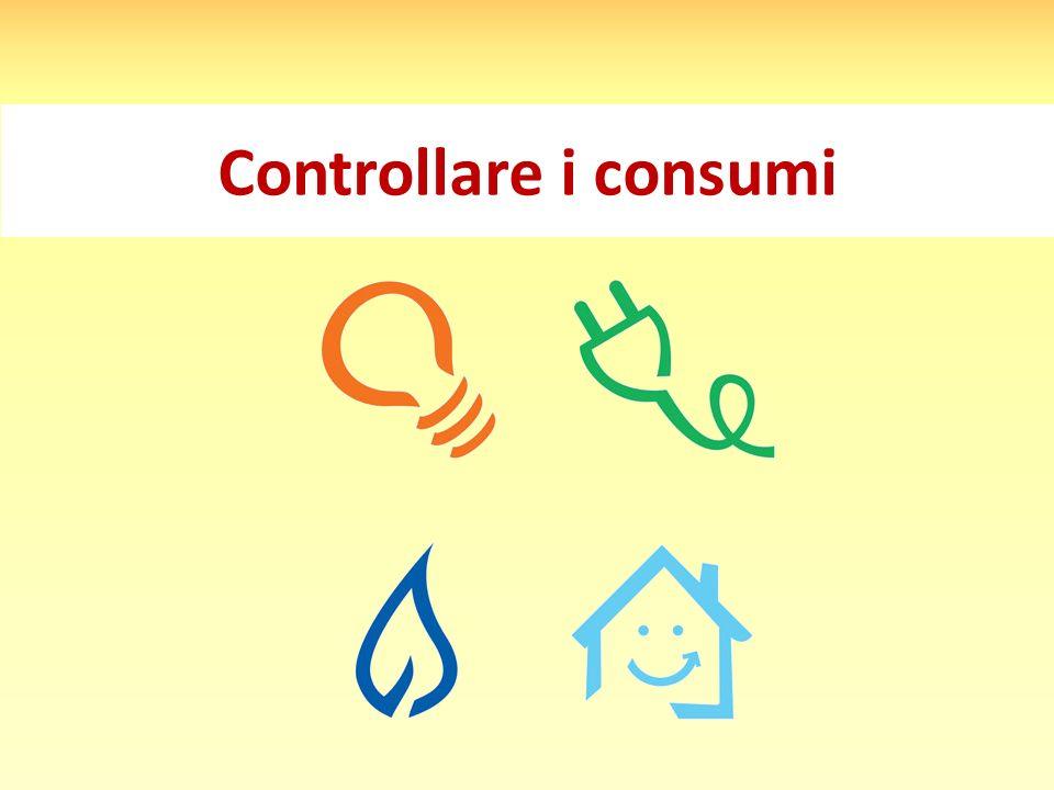 Controllare i consumi