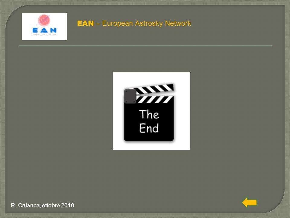 EAN – European Astrosky Network R. Calanca, ottobre 2010