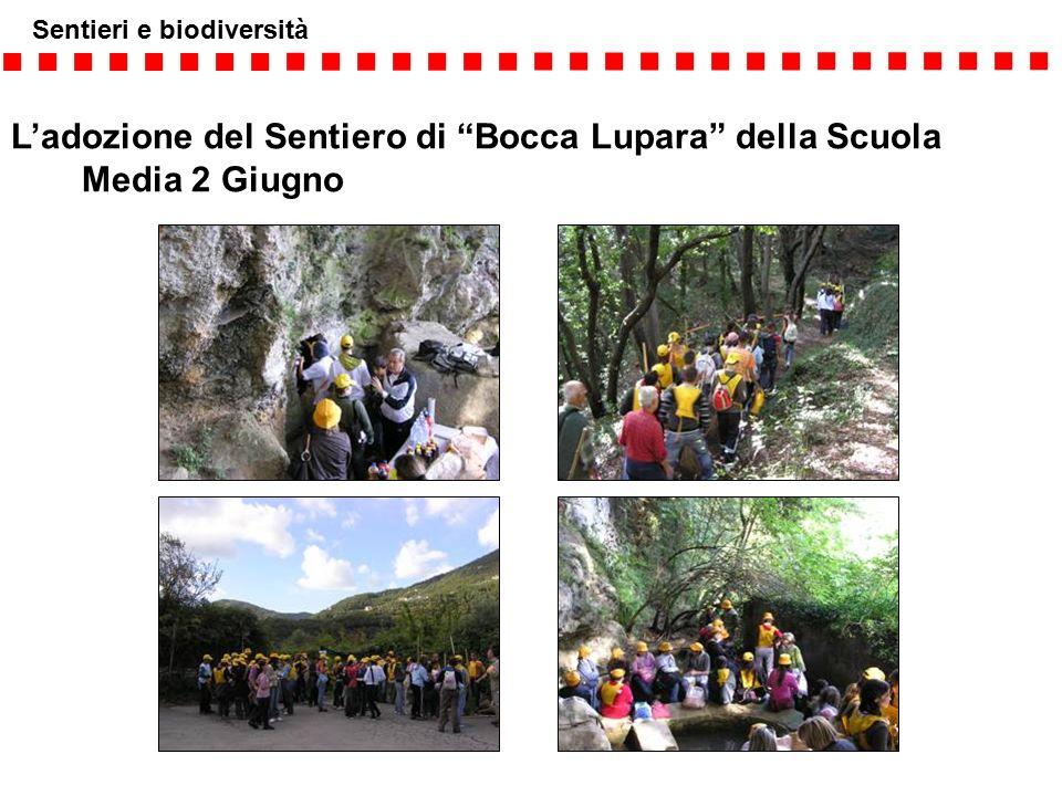 """L'adozione del Sentiero di """"Bocca Lupara"""" della Scuola Media 2 Giugno"""