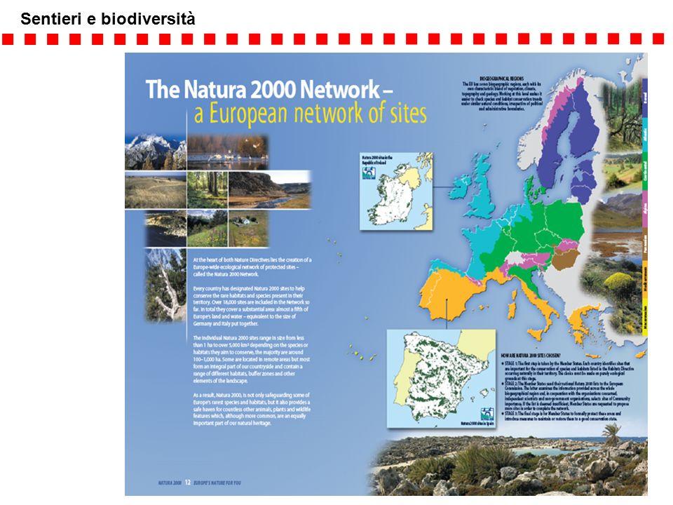 Sentieri e biodiversità