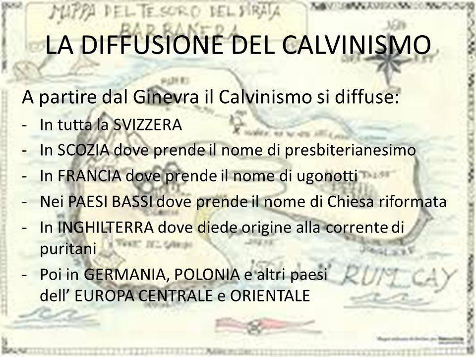 IL CALVINISMO COS'È ? Calvinismo Il Calvinismo è un ramo del Protestantesimo che pone la fede cristiana nel quadro di una teologia basata sulla sovran