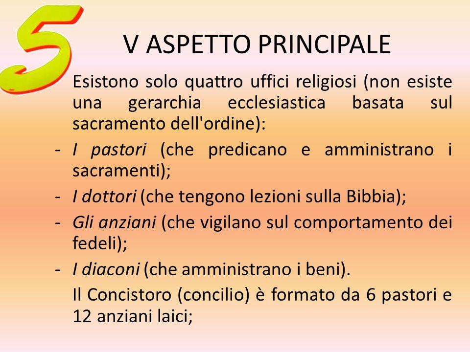 IV ASPETTO PRINCIPALE La Bibbia è fonte e regola della fede