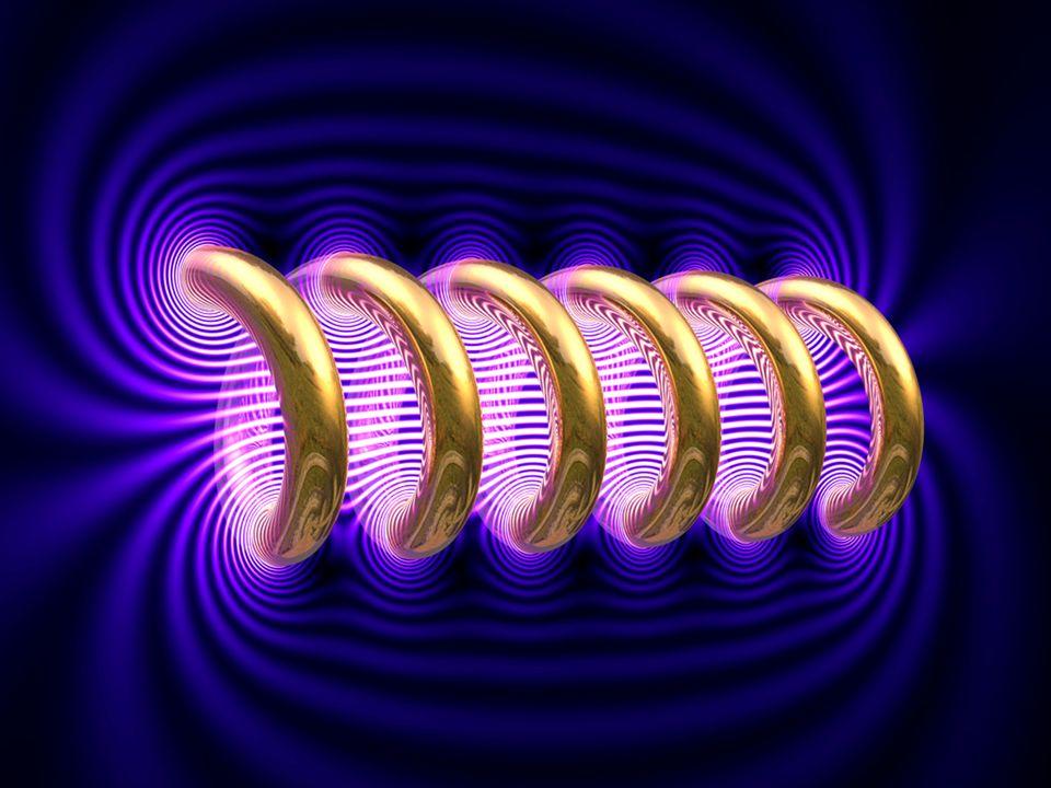 La direzione di B è tangente alle linee d'induzione. Il verso si trova con la regola della mano destra. Si pone la mano destra sul solenoide in modo c