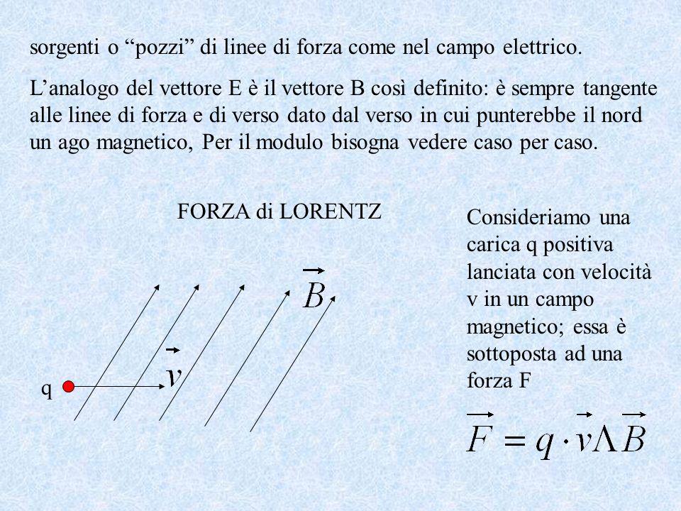 In analogia al campo elettrico, anche nel caso del campo magnetico, vediamo che la zona intorno ad un magnete è sede di un campo magnetico. Questo può