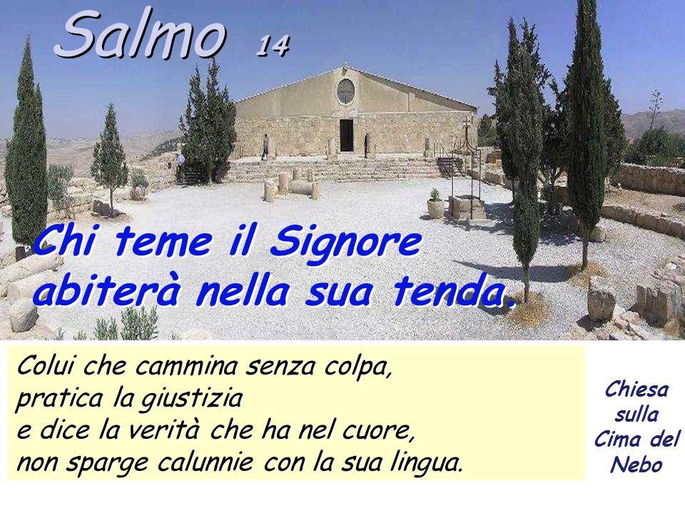 Il salmo 14 paragonato ai quattro salmi precedenti (10-13) che ci parlano del modo di comportarsi degli stolti, ci parla di quelli saggi e di come si