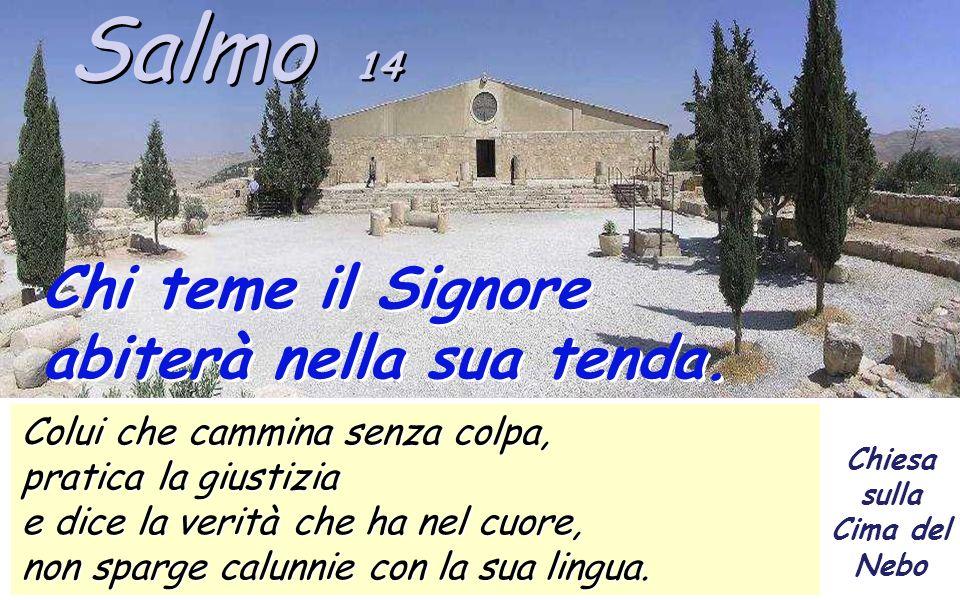 Il salmo 14.
