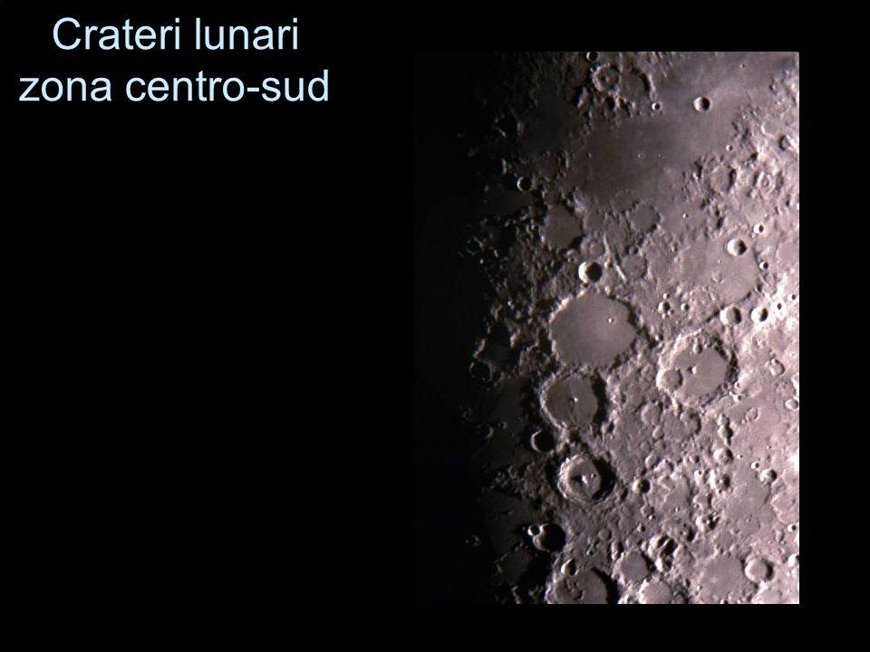 Crateri lunari zona centro-sud