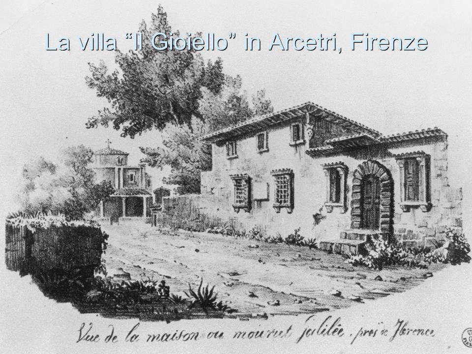 """La villa """"Il Gioiello"""" in Arcetri, Firenze"""