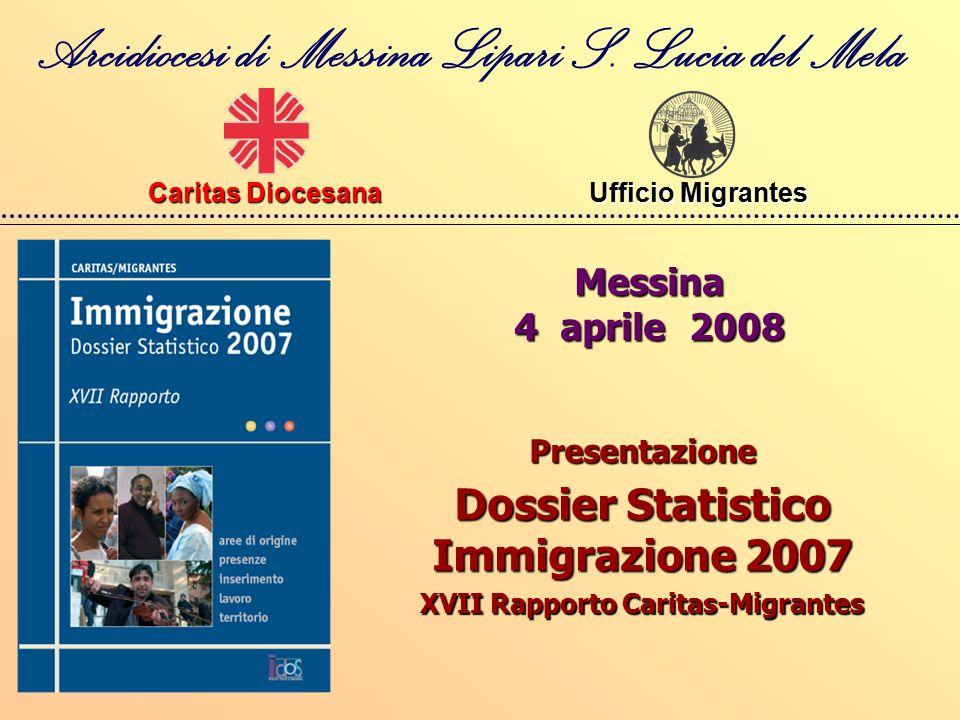 Messina 4 aprile 2008 Arcidiocesi di Messina Lipari S.