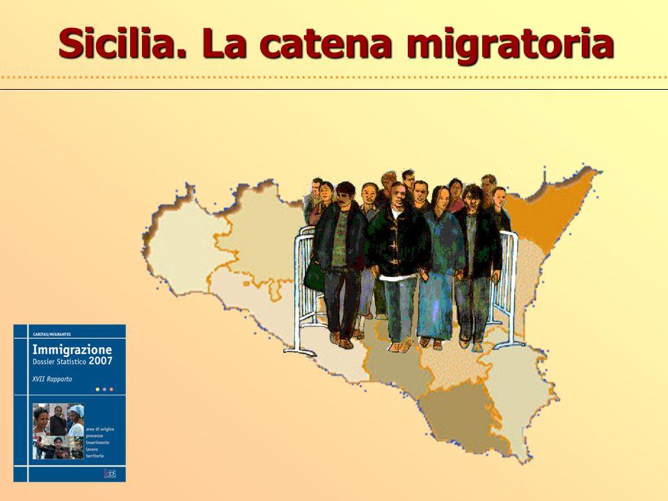 Sicilia. La catena migratoria