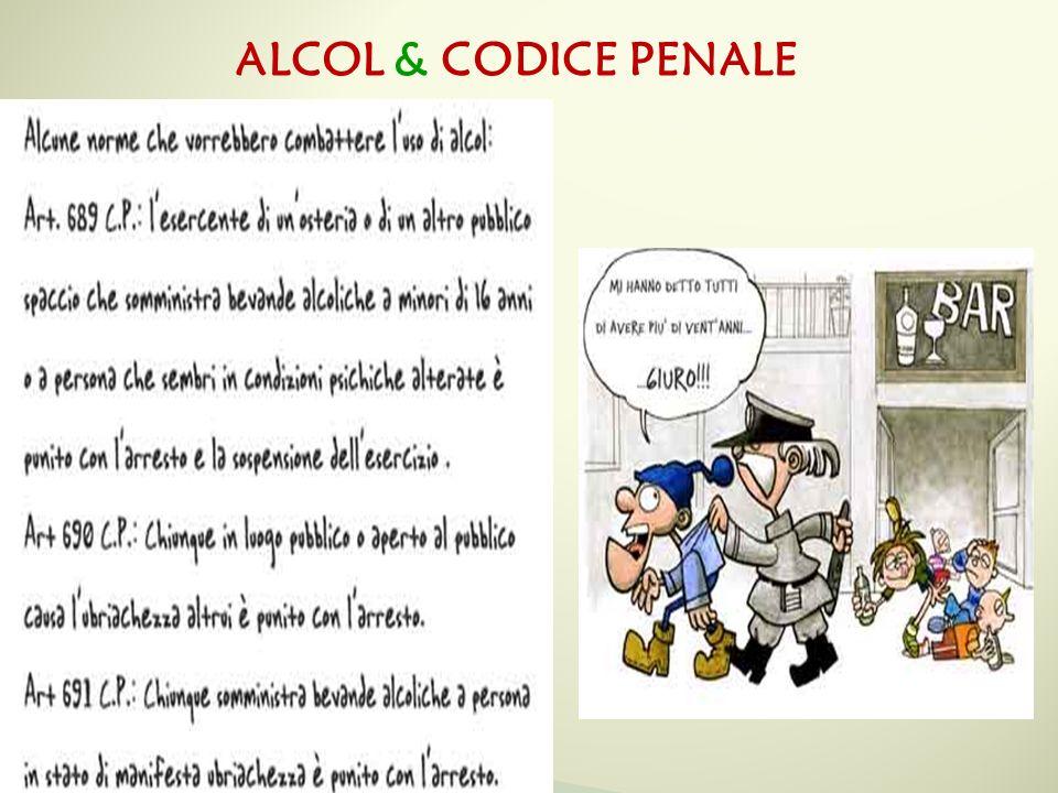 ALCOL & CODICE PENALE