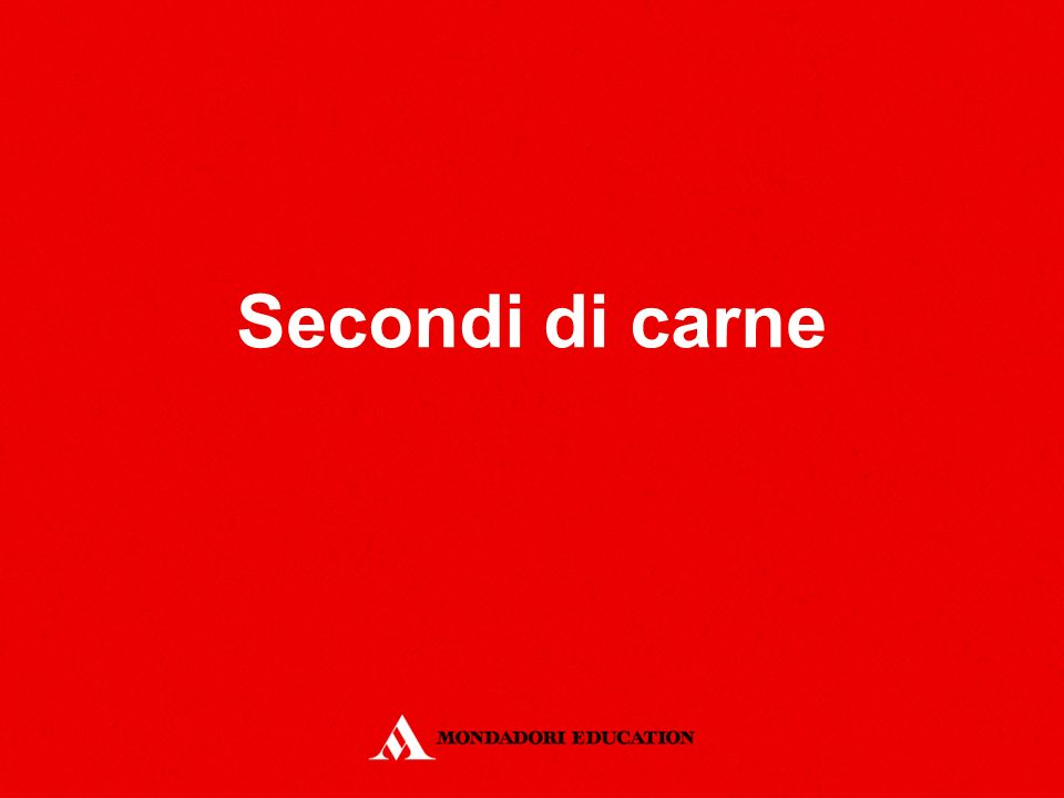 Secondi di carne