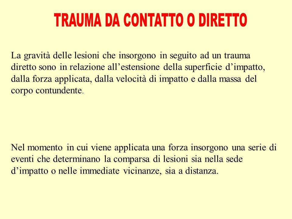 E', nella maggior parte dei casi, determinata da un trauma diretto, può essere isolata o accompagnarsi a lesioni meningee e/o cerebrali.