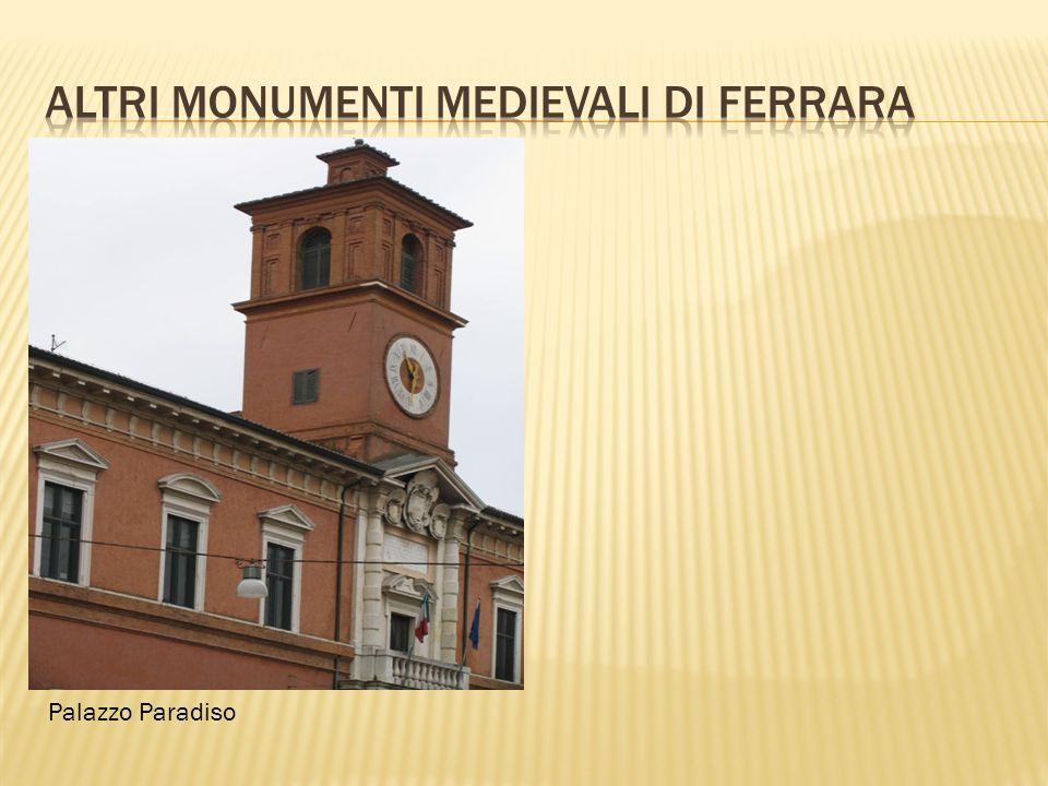 1.Lei conosce la storia di Ferrara.Si, conosco bene.