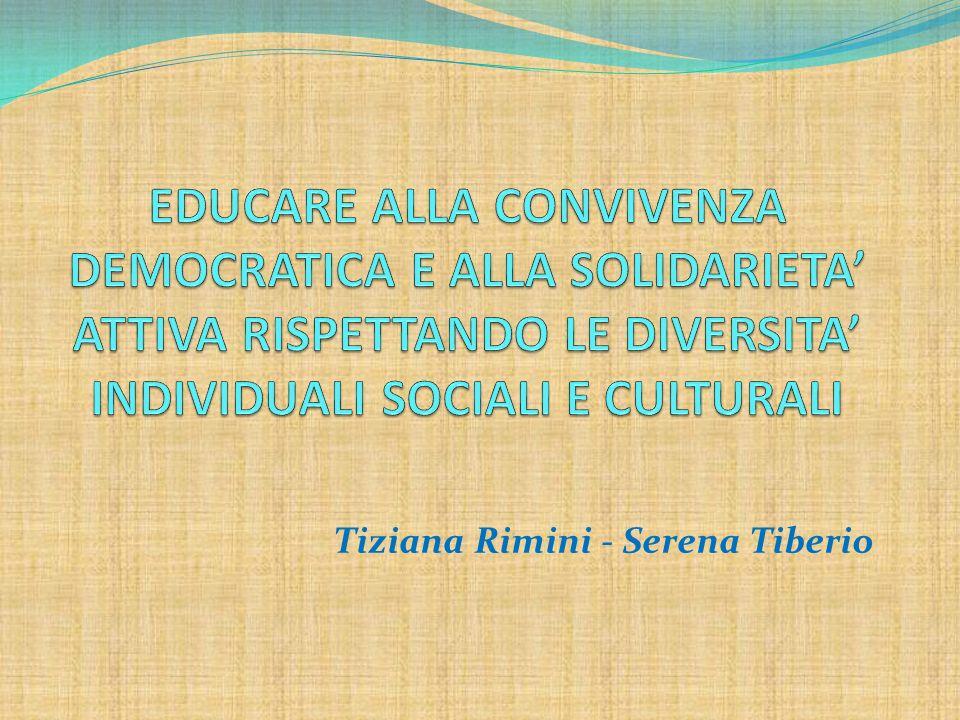 Tiziana Rimini - Serena Tiberio