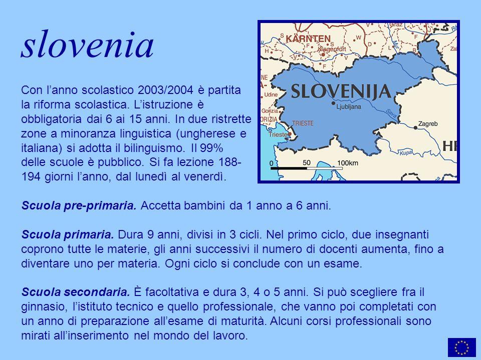 slovenia Scuola pre-primaria. Accetta bambini da 1 anno a 6 anni.