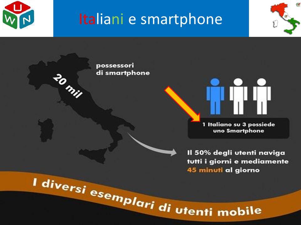Italiani e smartphone