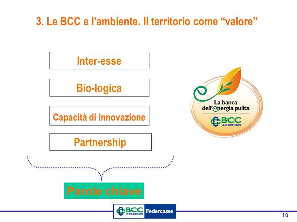 10 3. Le BCC e l'ambiente.