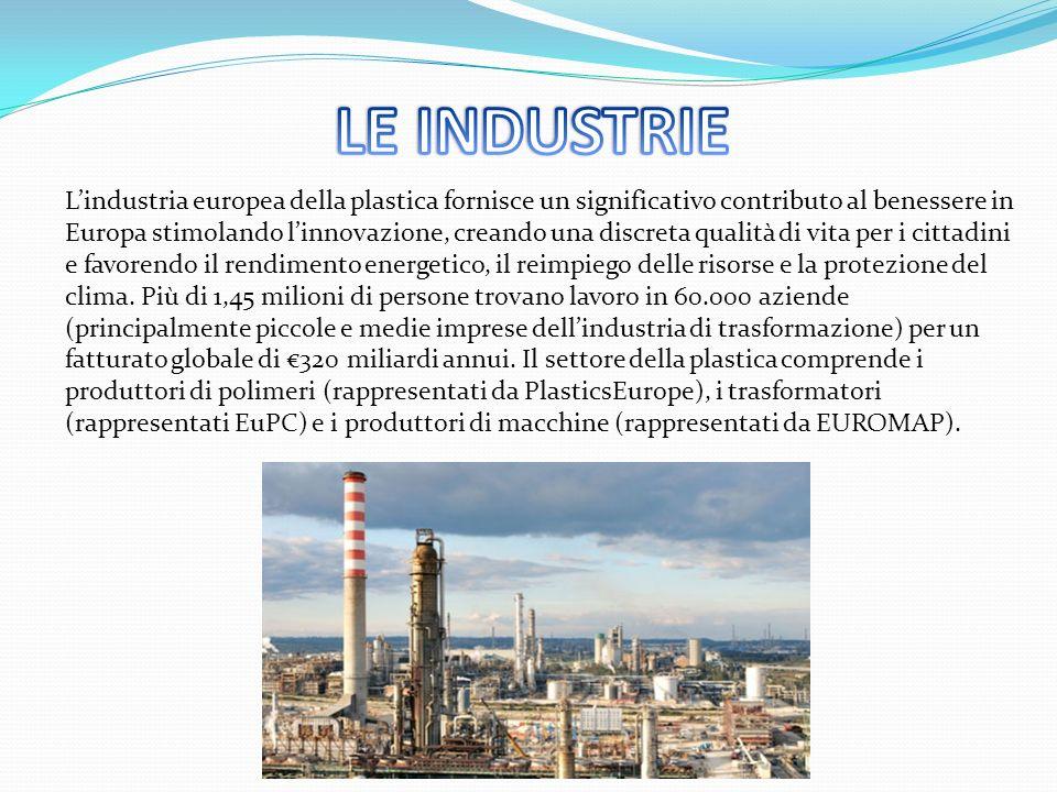 L'industria europea della plastica fornisce un significativo contributo al benessere in Europa stimolando l'innovazione, creando una discreta qualità