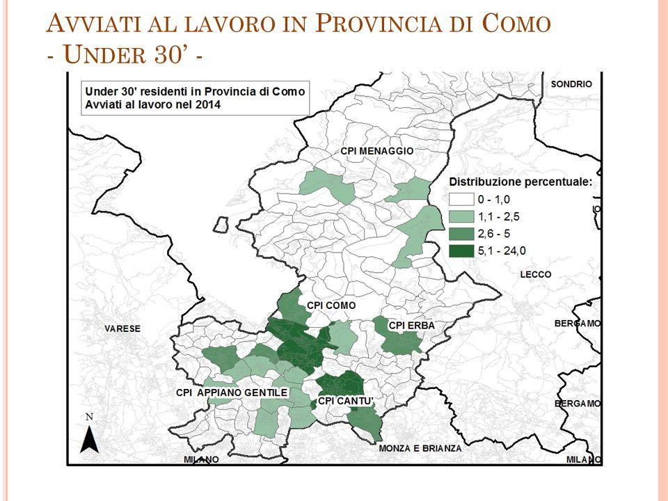 A VVIATI AL LAVORO IN P ROVINCIA DI C OMO - U NDER 30' - 11