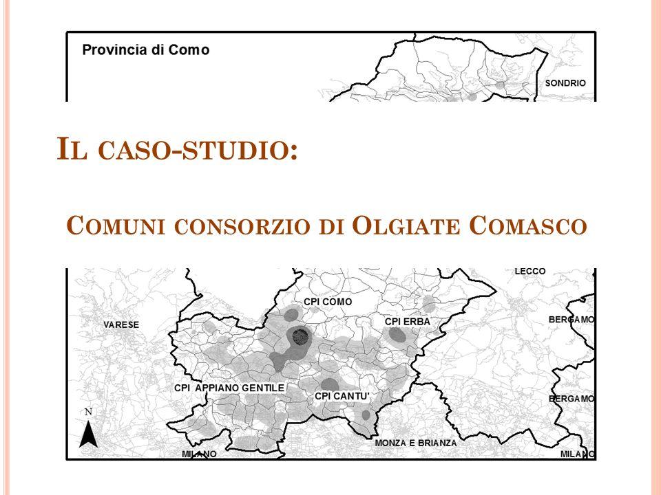 I L CASO - STUDIO : C OMUNI CONSORZIO DI O LGIATE C OMASCO
