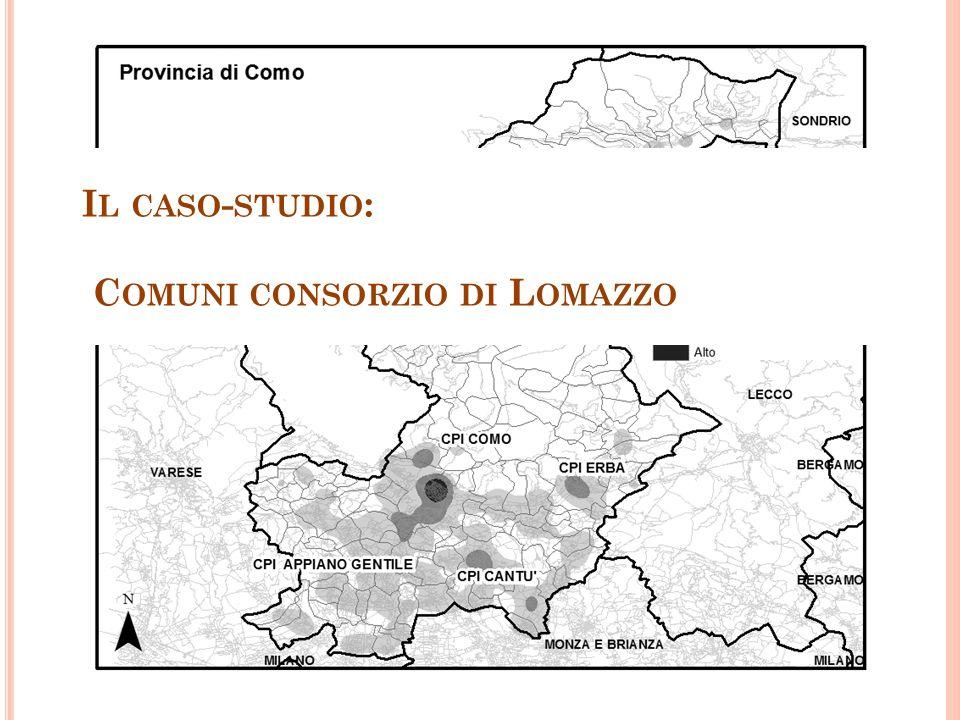 I L CASO - STUDIO : C OMUNI CONSORZIO DI L OMAZZO
