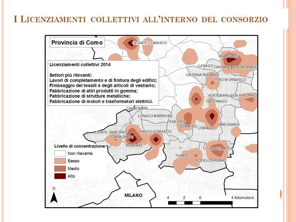 I L ICENZIAMENTI COLLETTIVI ALL ' INTERNO DEL CONSORZIO 29