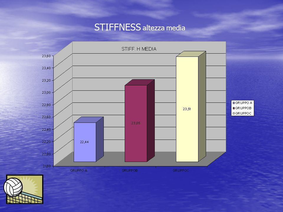 STIFFNESS altezza media