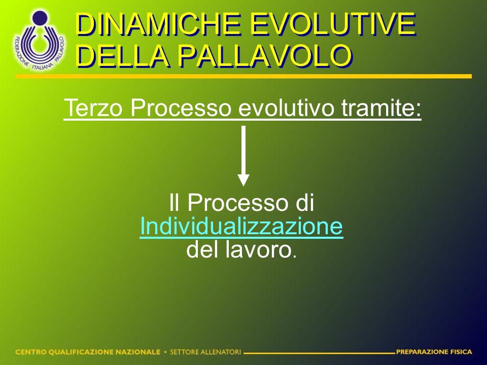 Terzo Processo evolutivo tramite: Il Processo di Individualizzazione del lavoro.