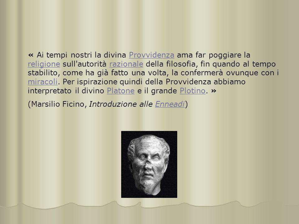 « Ai tempi nostri la divina Provvidenza ama far poggiare la religione sull'autorità razionale della filosofia, fin quando al tempo stabilito, come ha
