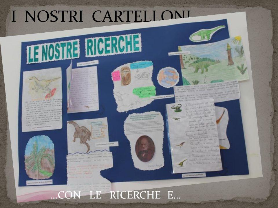 I NOSTRI CARTELLONI… …CON LE RICERCHE E…
