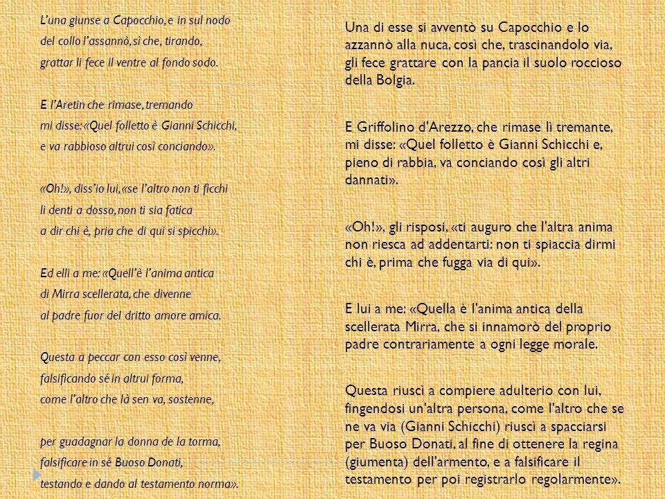 OPERA Commedia di un atto unico Composta da Giacomo Puccini intorno al 1918 Libretto di Giovacchino Forzano Fa parte del «Trittico» insieme al «Tabarro» e «Suor Angelica» Ambientata a Firenze alla fine del XIII secolo