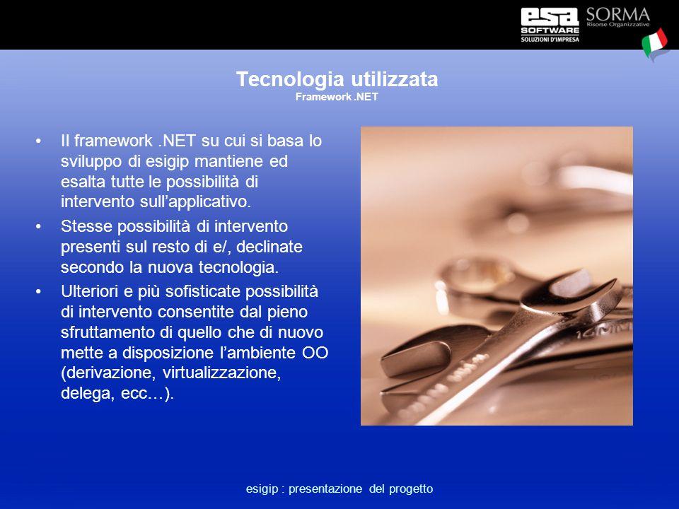 esigip : presentazione del progetto L'approccio dipartimentale Esigip viene scritto e pensato come un applicativo autonomo rispetto alle altre componenti del gestionale.