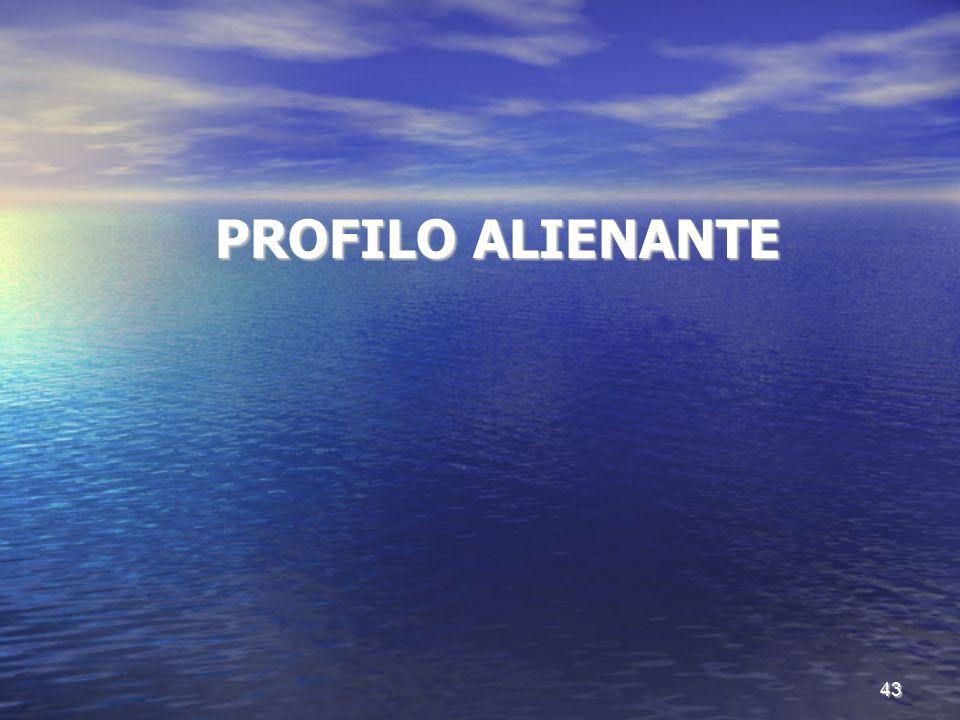 PROFILO ALIENANTE PROFILO ALIENANTE 43
