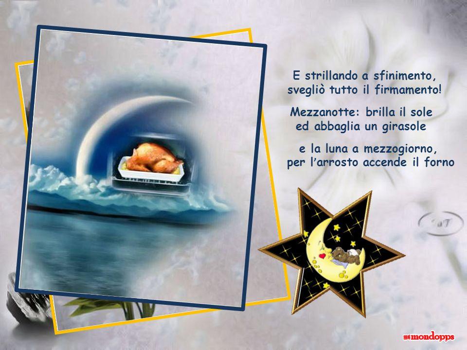 Un angioletto birichino si svegliò un bel mattino e da una nube tutta blu si rivolse al suo Gesù: io quassù che ci sto affà.