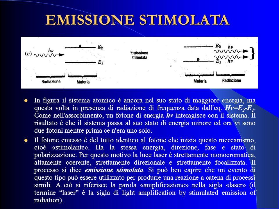 Classificazione dei laser: definizioni (Norma CEI EN 60825-1: 2009) Classe 1: Laser che sono sicuri nelle condizioni di funzionamento ragionevolmente prevedibili, compreso l'impiego di strumenti ottici per visione diretta del fascio.