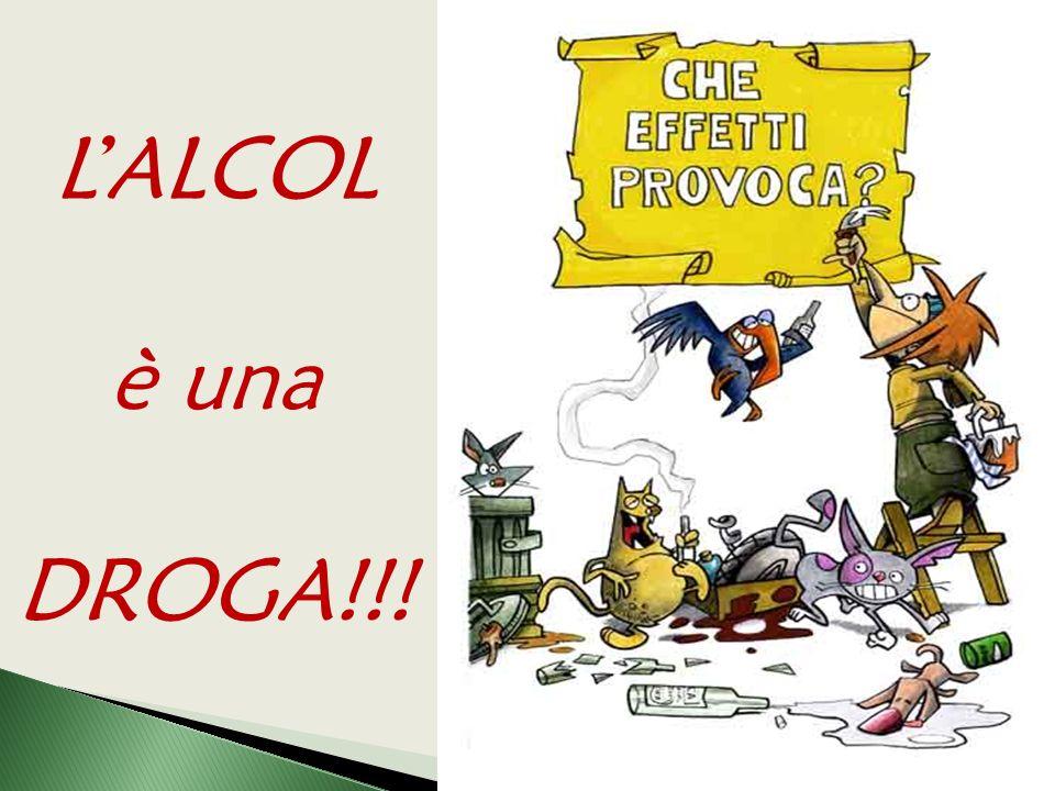 L'ALCOL è una DROGA!!!