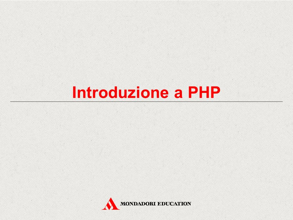 Introduzione La diffusione di PHP ha avuto un notevole incremento dalla fine degli anni Novanta a oggi, per due motivi di fondo: -È open source e quindi gratuito e a disposizione di tutti, -Dispone di un elevato grado di portabilità, in quanto PHP può funzionare su moltissime piattaforme, sia per quanto riguarda i sistemi operativi, sia per quanto riguarda i server Web.